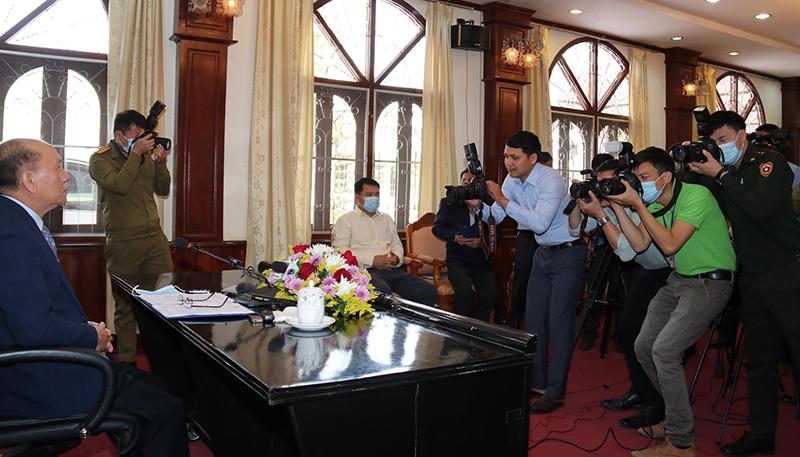 Lào công bố kết quả cuộc bầu cử Quốc hội khóa IX -0