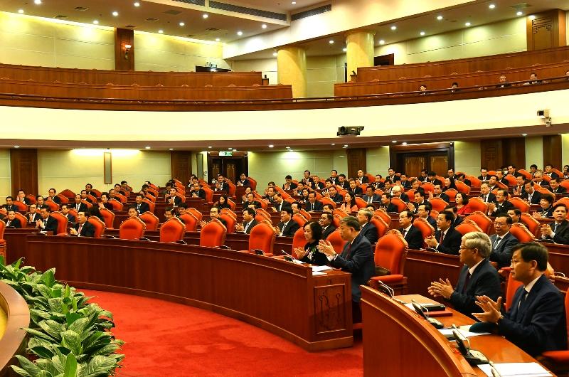 Khai mạc Hội nghị lần thứ hai Ban Chấp hành T.Ư Đảng khóa XIII -0