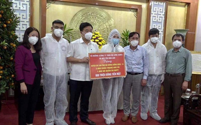 Hội yêu hoa lan Việt Nam ủng hộ 2,9 tỷ đồng và 7.000 khẩu trang, quần áo bảo hộ phòng, chống dịch Covid-19 -0