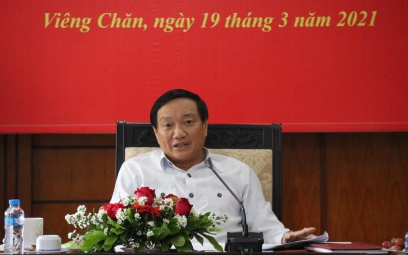 Công tác Đảng tại Lào phát triển mạnh và đúng định hướng -0