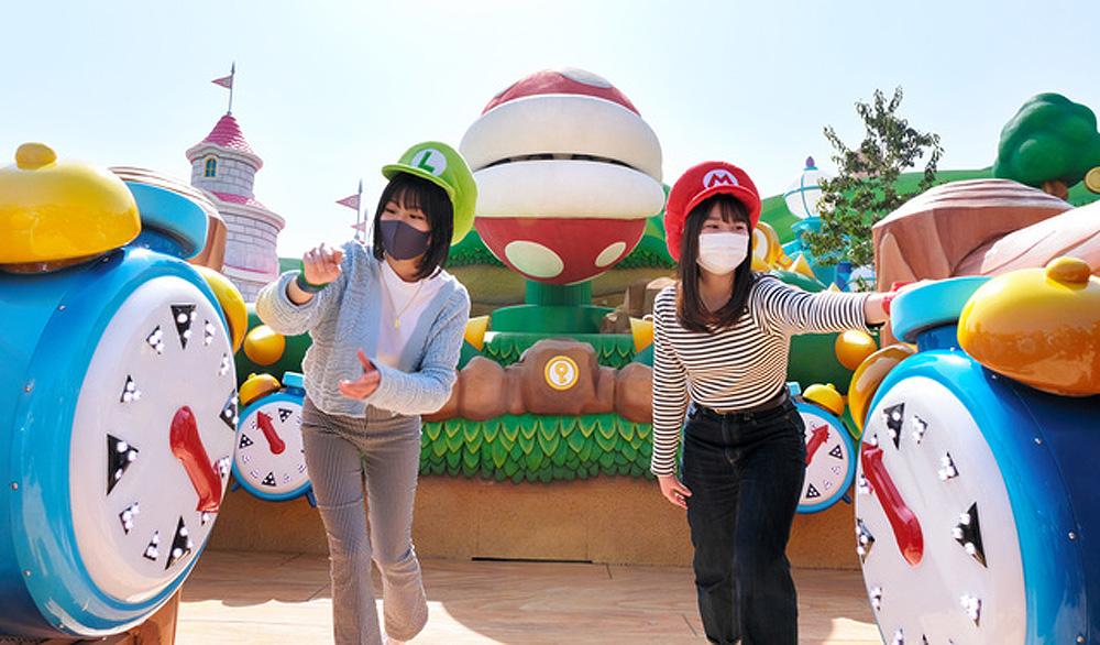 Điều gì hấp dẫn bên trong công viên chủ đề Mario ở Nhật Bản? -0