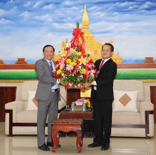 Chúc mừng 66 năm Ngày thành lập Đảng Nhân dân Cách mạng Lào -0