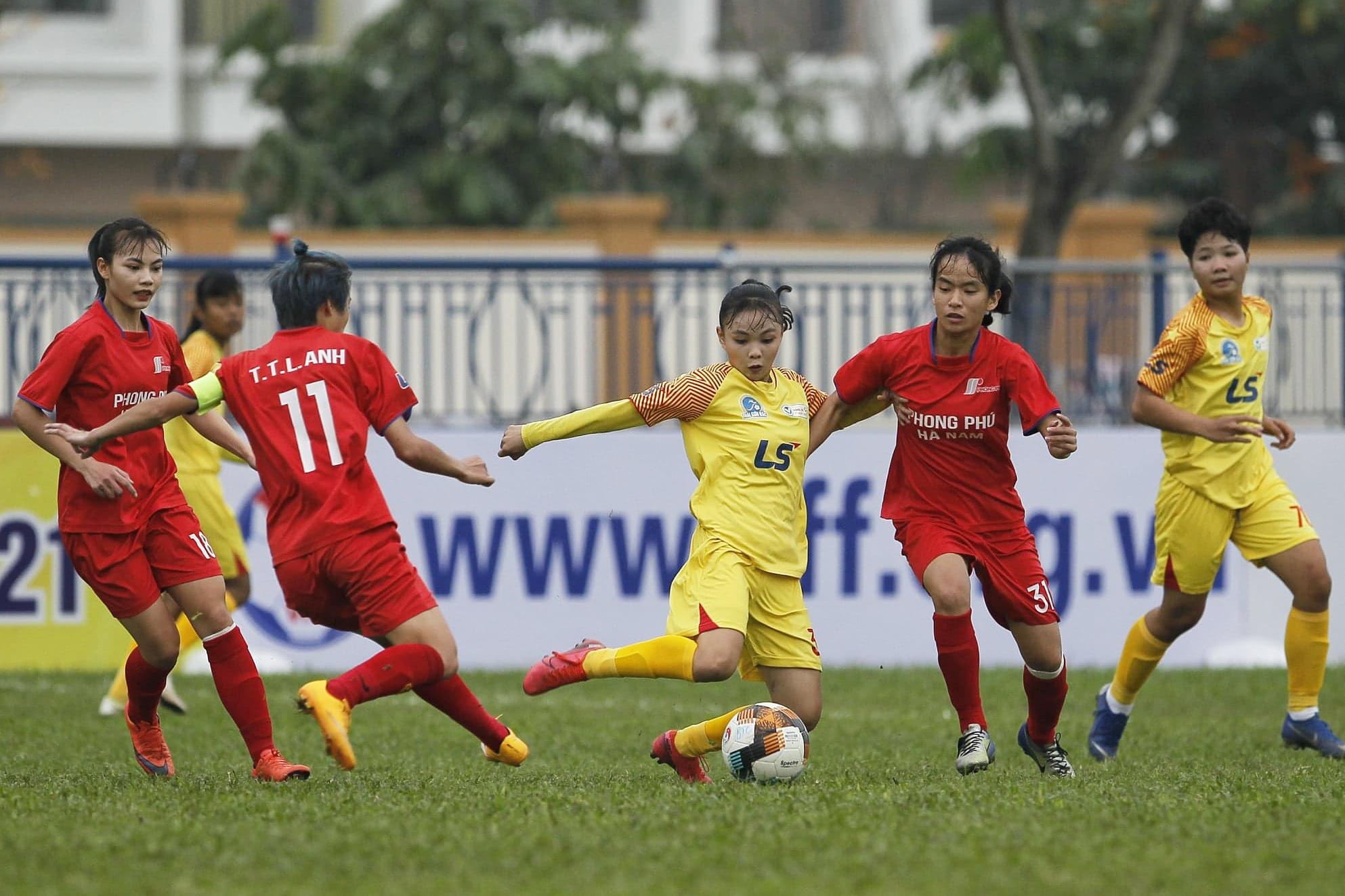 Than Khoáng sản Việt Nam vô địch lượt đi Giải nữ U19 VĐQG 2021 -0