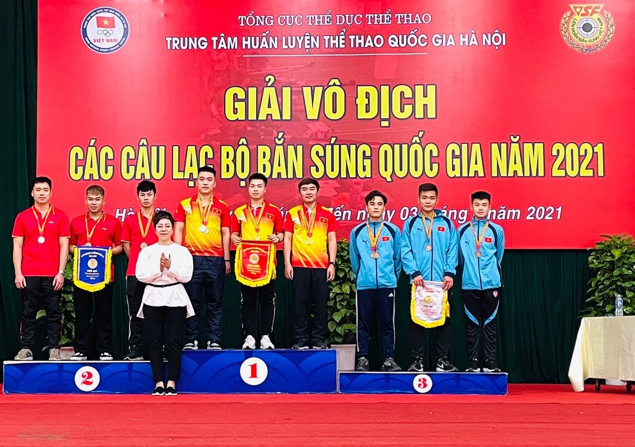 Đoàn Quân đội tạm dẫn đầu Giải Vô địch các CLB bắn súng quốc gia -0