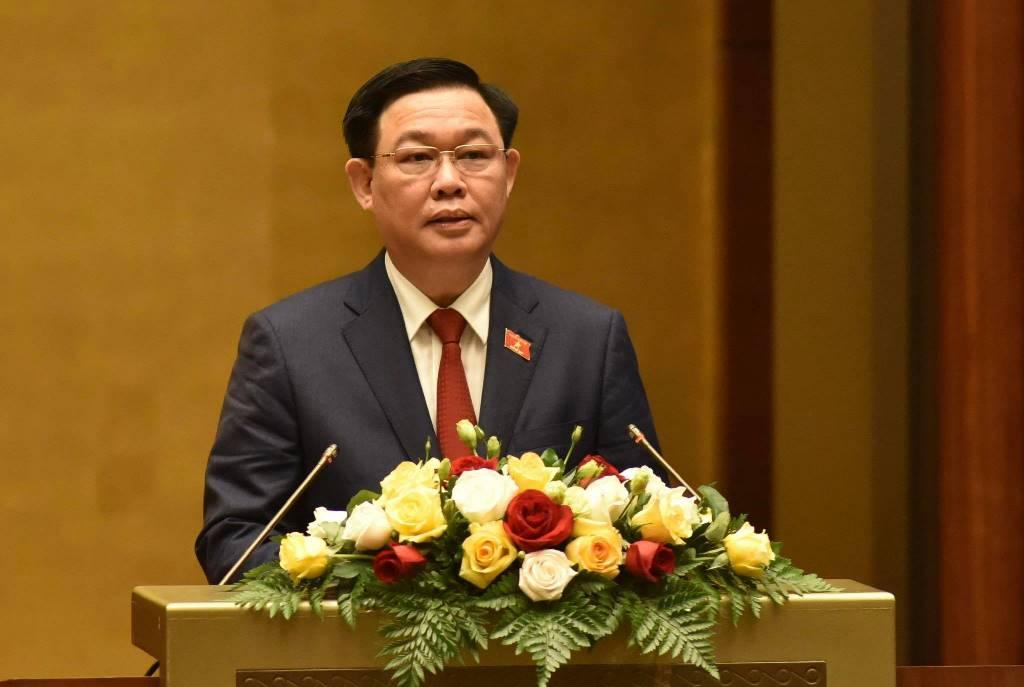 Đồng chí Vương Đình Huệ tuyên thệ nhậm chức Chủ tịch Quốc hội -0
