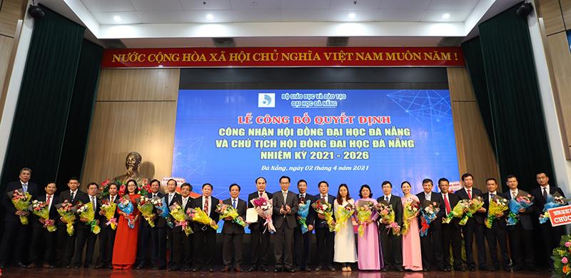 Công bố Hội đồng và Chủ tịch Hội đồng Đại học Đà Nẵng -0