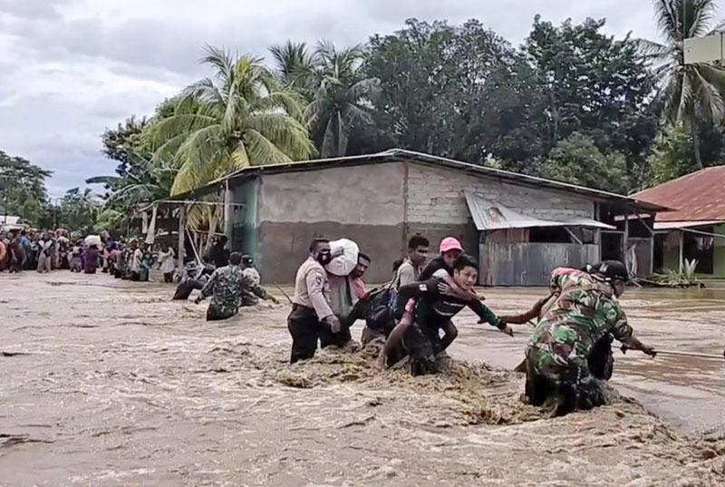 Số người thiệt mạng do bão nhiệt đới tại Indonesia và Timor-Leste tiếp tục tăng -0