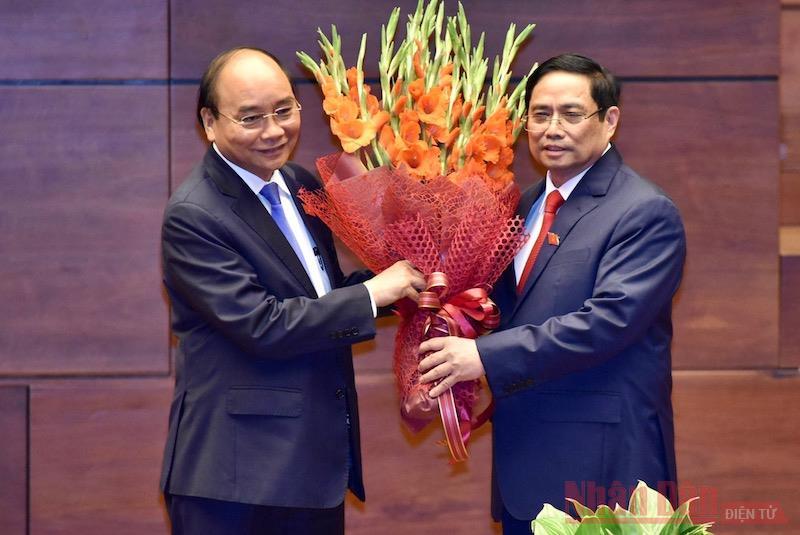 Đồng chí Phạm Minh Chính tuyên thệ nhậm chức Thủ tướng Chính phủ -0