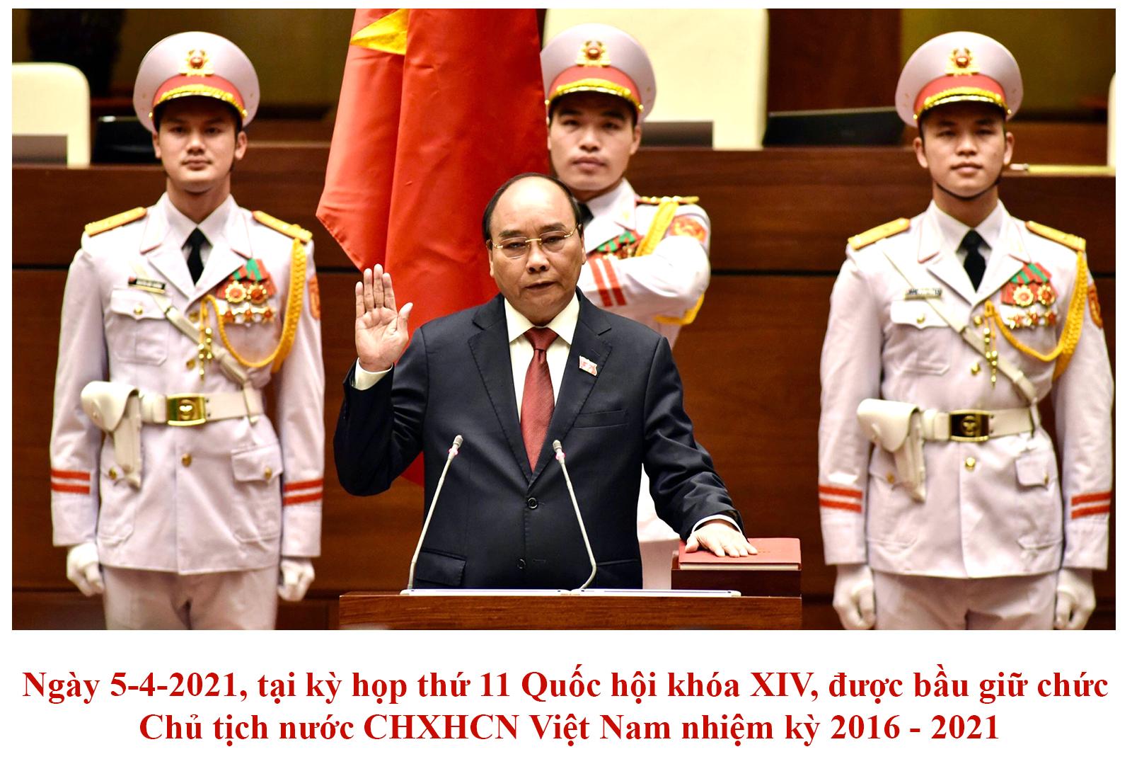 [Infographic] Chủ tịch nước Nguyễn Xuân Phúc -2