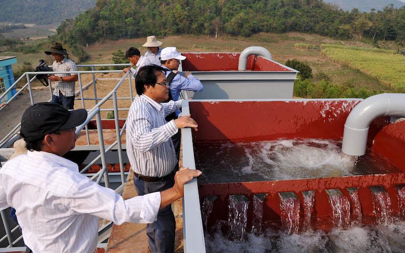 Niềm vui đón dòng nước sạch -0