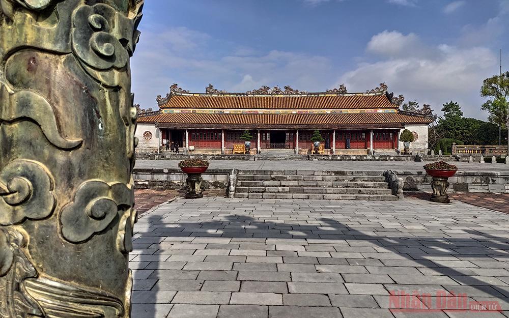 Bộ Văn hóa, Thể thao và Du lịch: Bảo quản và phục chế nguyên vẹn tối đa Điện Thái Hòa -0