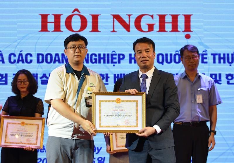 Bảo hiểm xã hội Việt Nam đối thoại với doanh nghiệp Hàn Quốc -0