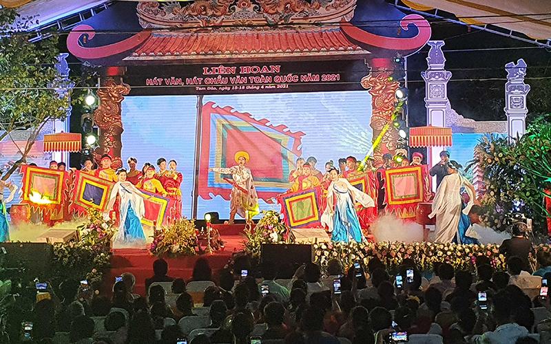 Khai mạc Liên hoan hát Văn, hát Chầu Văn toàn quốc năm 2021 -0