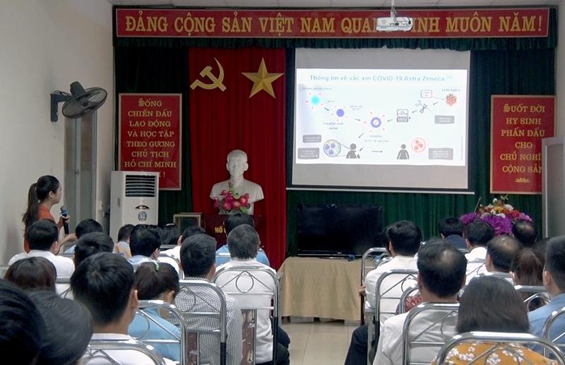 Tuyên Quang tiếp nhận 4.500 liều vắc xin phòng Covid-19 -0