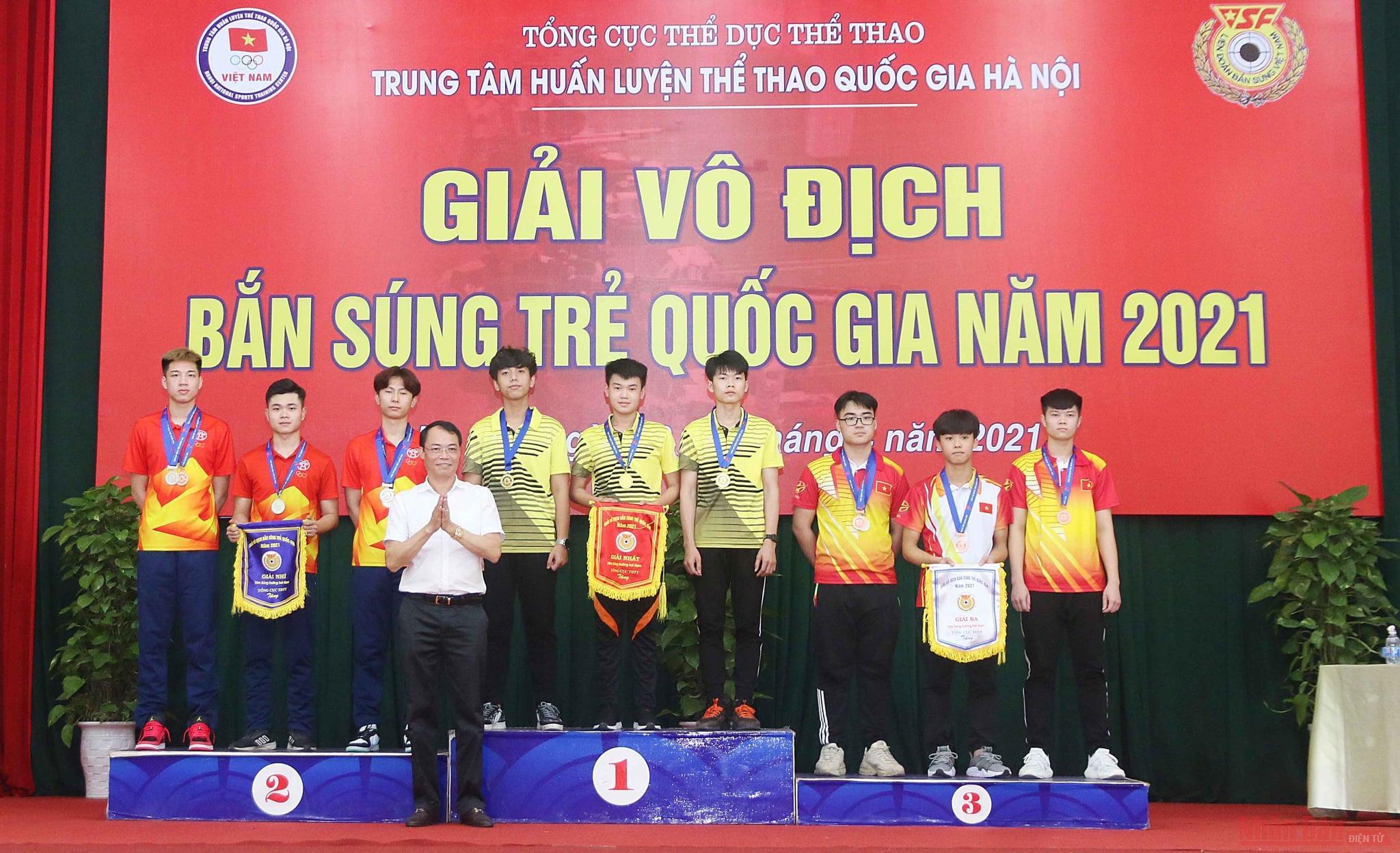 Khai mạc Giải vô địch Bắn súng trẻ quốc gia 2021 -0