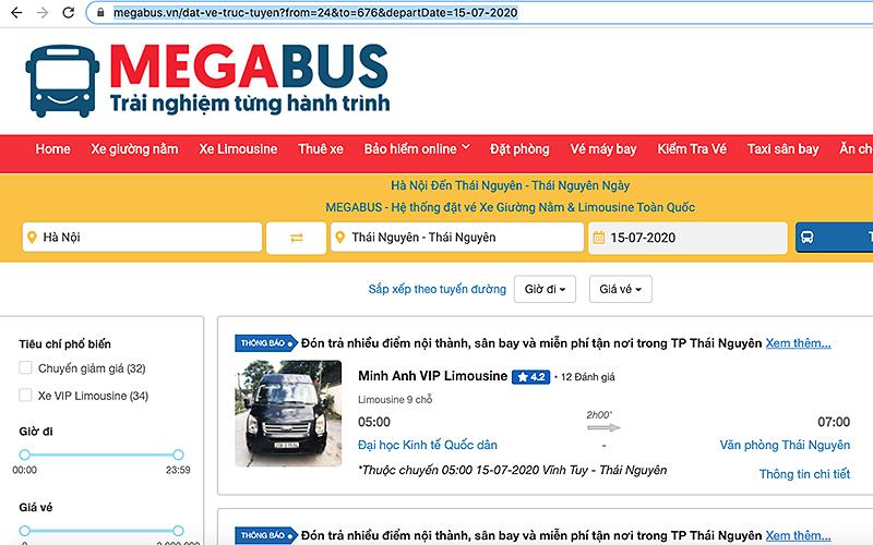 Tràn lan sai phạm bán vé online xe hợp đồng -0