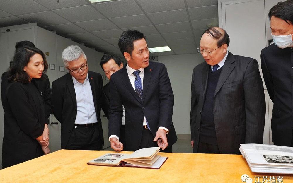 Thúc đẩy hơn nữa quan hệ giao lưu hợp tác hữu nghị với tỉnh Giang Tô -0
