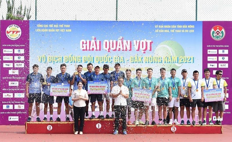Lý Hoàng Nam vô địch đồng đội nam giải quần vợt đồng đội quốc gia 2021 -0