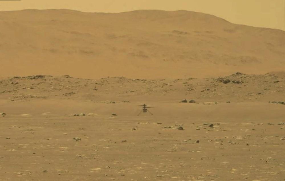 NASA tạo nên lịch sử với chuyến trực thăng đầu tiên cất cánh trên sao Hỏa -0