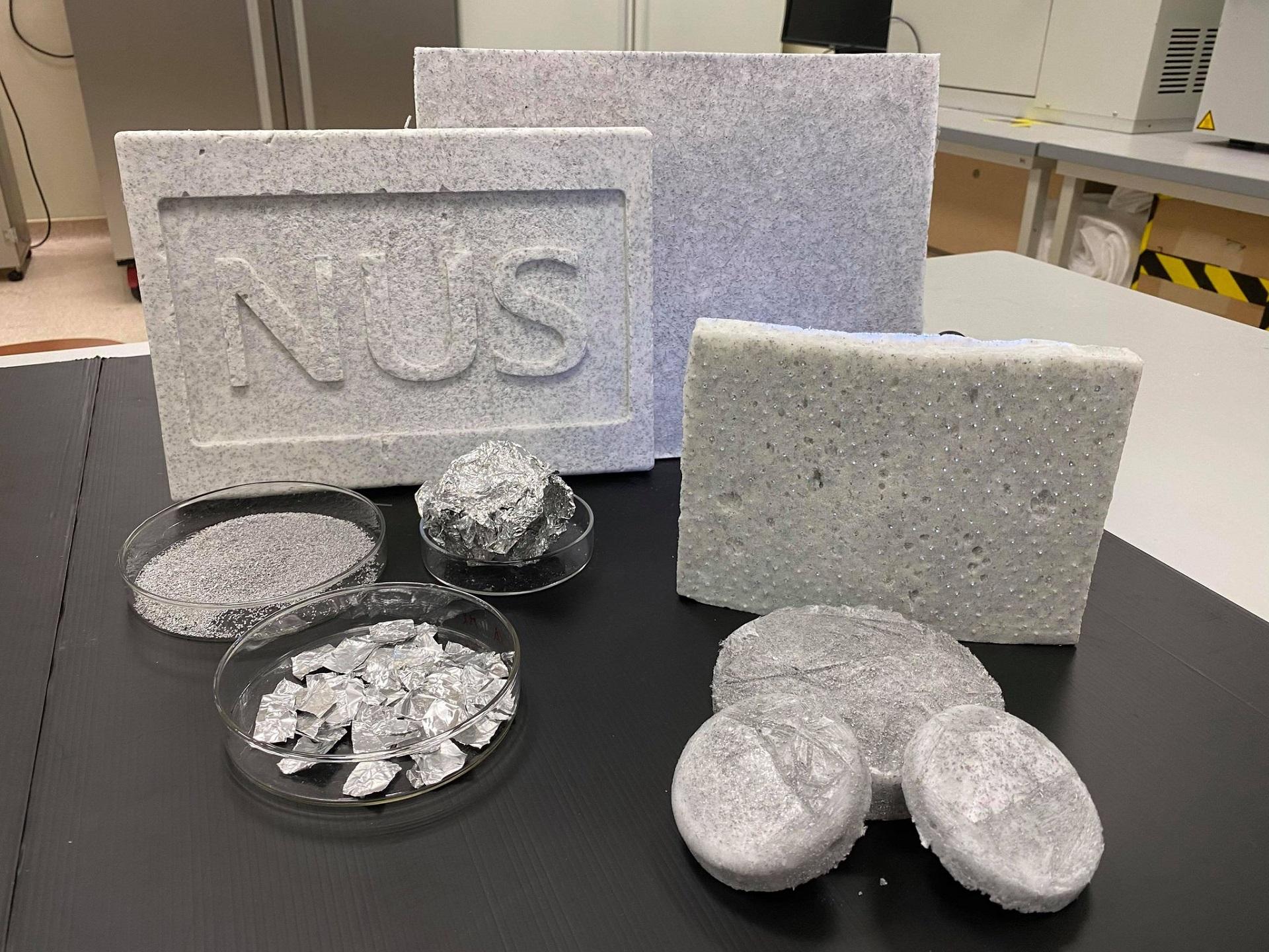 Nhóm nhà khoa học Việt tại Singapore biến chất thải kim loại thành aerogel -0