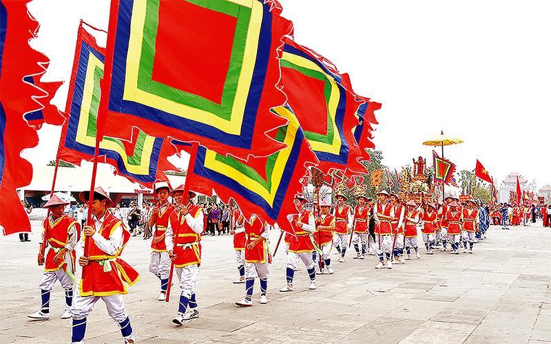 Dấu ấn văn hóa Hùng Vương  -0