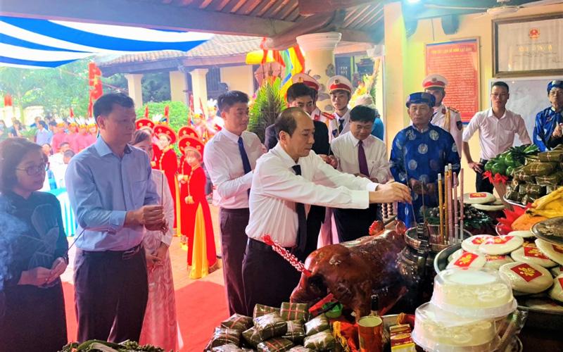 Tổ chức trọng thể Lễ Dâng hương tưởng niệm các Vua Hùng -0