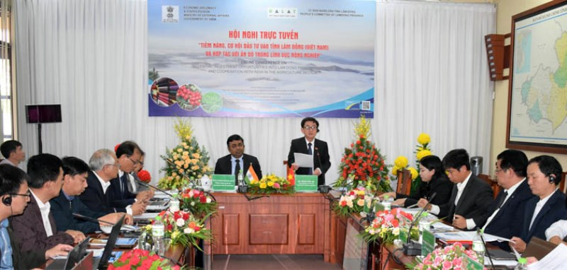 Xúc tiến hợp tác đầu tư giữa tỉnh Lâm Đồng với Ấn Độ -0