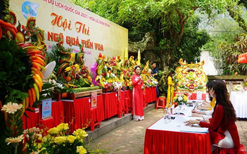 Lễ hội Hoa Lư - tinh hoa hội tụ trên kinh đô đá -0
