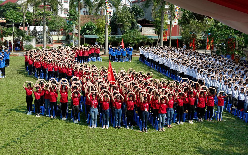 Phú Thọ xây 25 mô hình cột mốc Trường Sa tại các trường học -0