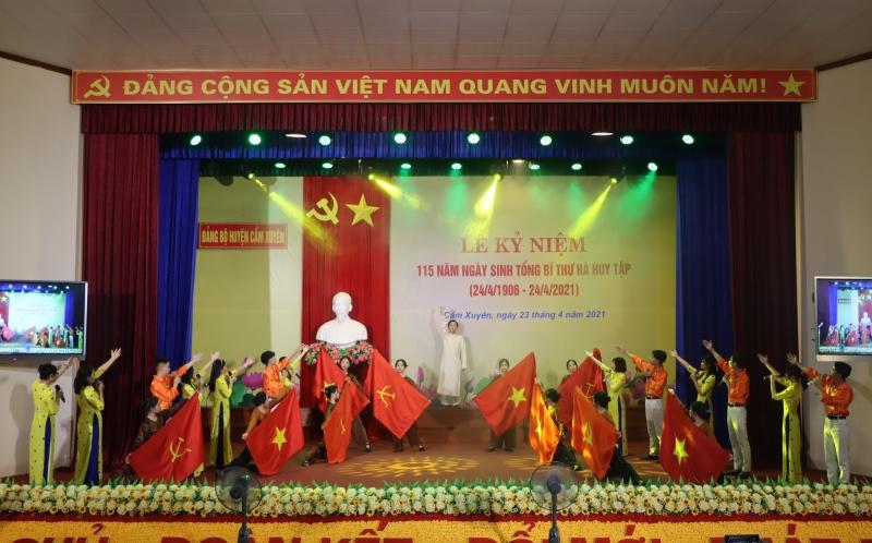 Hà Tĩnh kỷ niệm 115 năm Ngày sinh Tổng Bí thư Hà Huy Tập -0