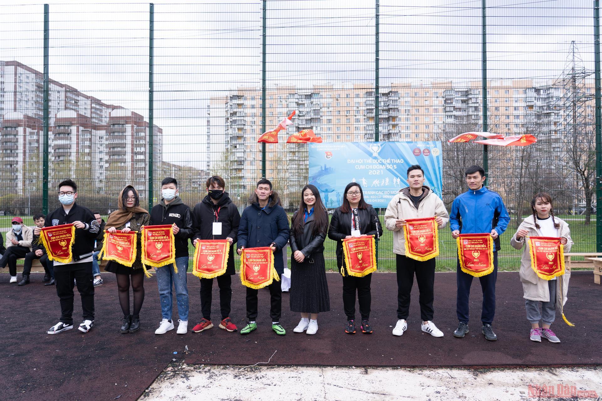 Sinh viên Việt Nam tại LB Nga tổ chức Đại hội thể thao -0