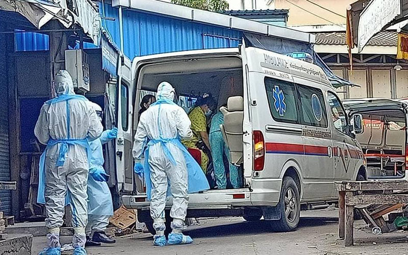 Số ca nhiễm mới Covid-19 tại Campuchia có dấu hiệu chững lại - Báo Nhân Dân