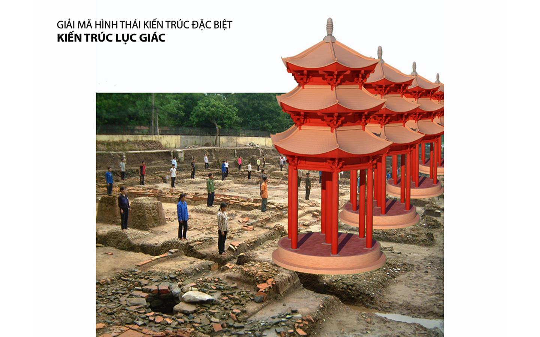 """""""Lầu son gác tía"""" Hoàng thành Thăng Long 1000 năm trước qua hình ảnh 3D -1"""