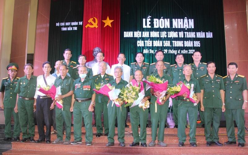 Tiểu đoàn 560 đón nhận danh hiệu Anh hùng lực lượng vũ trang nhân dân -0