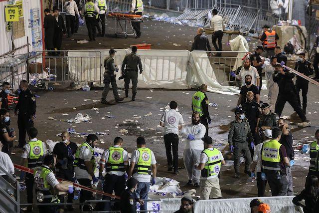 Giẫm đạp tại lễ hội tôn giáo ở Israel, 45 người chết -0