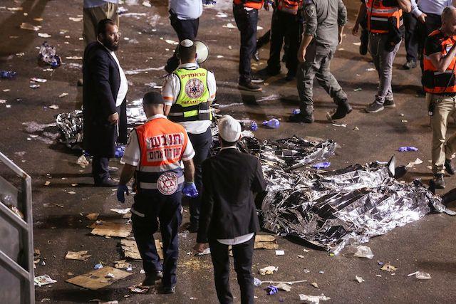 Giẫm đạp tại lễ hội tôn giáo ở Israel, 45 người chết -1
