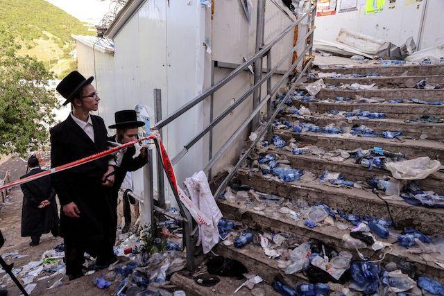 Giẫm đạp tại lễ hội tôn giáo ở Israel, 45 người chết -4