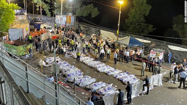 Giẫm đạp tại lễ hội tôn giáo ở Israel, 45 người chết -5