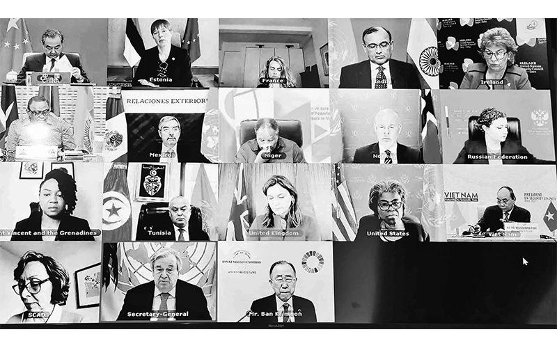 Dấu ấn sắc nét vì hòa bình và an ninh quốc tế -0