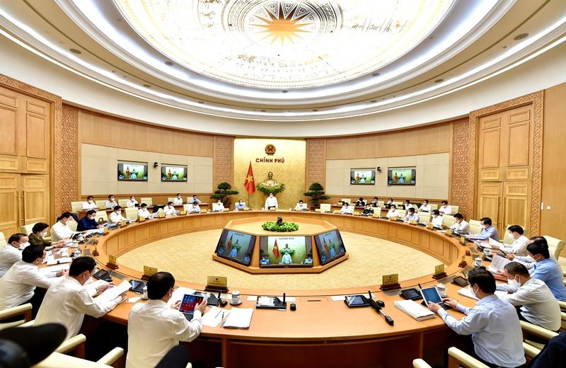 Chính phủ họp phiên thường kỳ tháng 4 -0