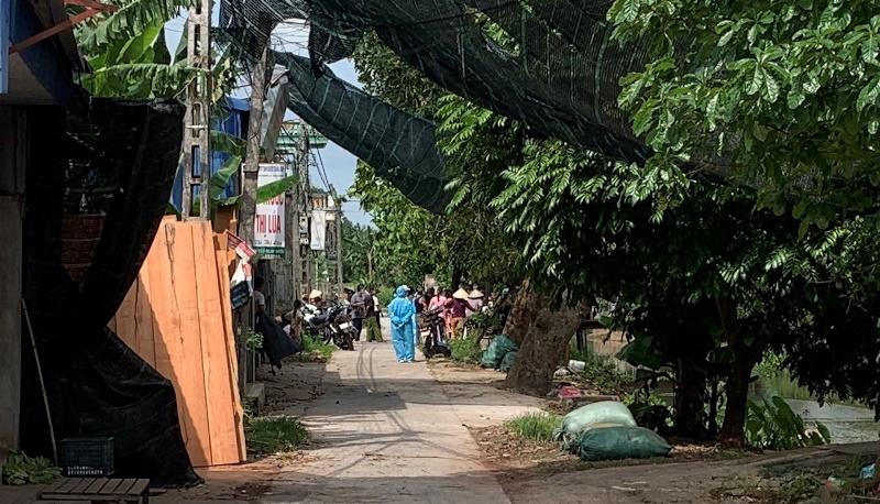 Nam Định phong tỏa một xóm ở thị trấn Cổ Lễ do có ca nghi nhiễm Covid-19 -0