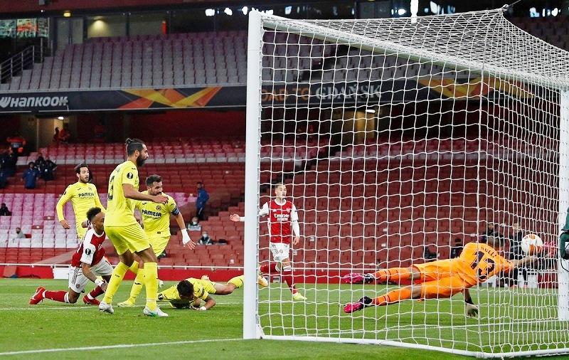 Hòa thất vọng Villarreal, Arsenal vỡ mộng vào chung kết Europa League -0