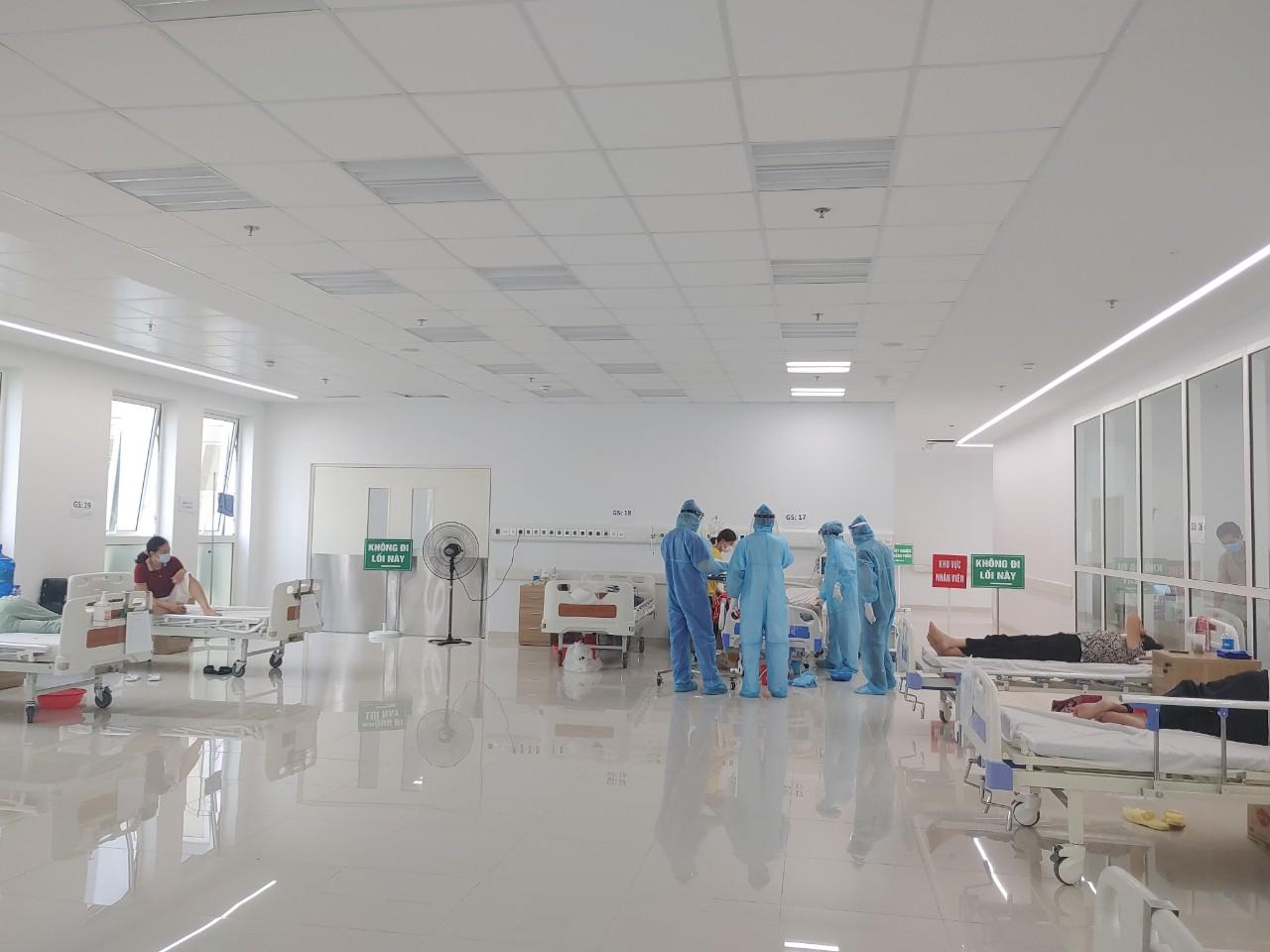 BV Bạch Mai (Hà Nam) tiếp nhận 110 bệnh nhân từ BV Bệnh Nhiệt đới T.Ư -0