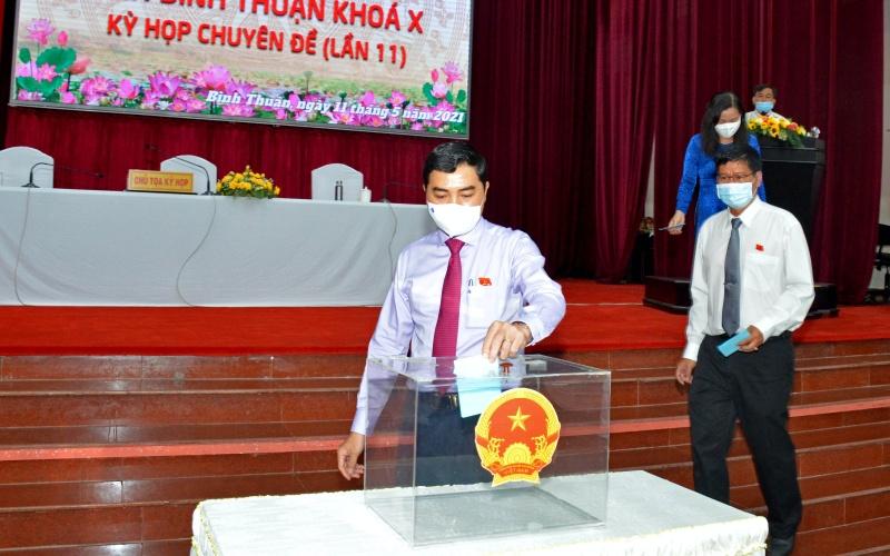 Bình Thuận bầu bổ sung Phó Chủ tịch HĐND tỉnh và Phó Chủ tịch UBND tỉnh -0