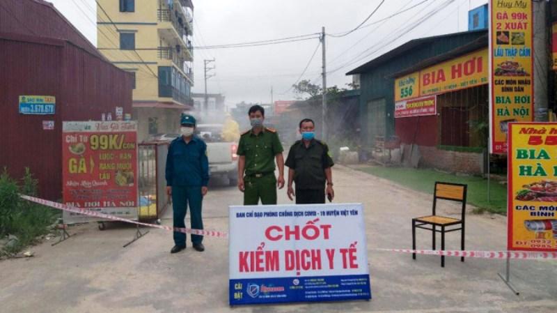 Bắc Giang phong tỏa khu vực 15 nghìn người -0