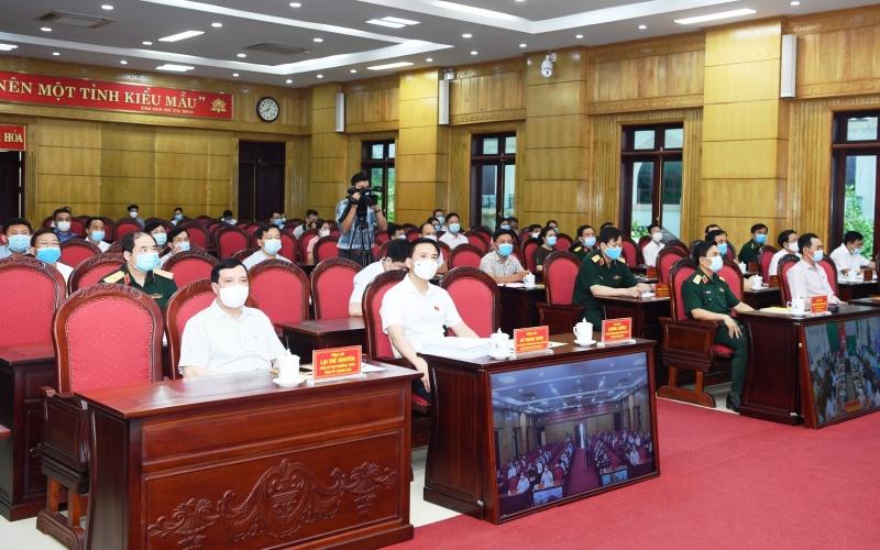 Đồng chí Lương Cường tiếp xúc cử tri, vận động bầu cử ở Thanh Hóa -0