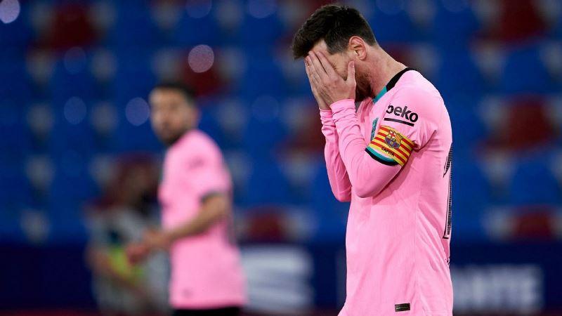 Messi mắc sai lầm, Barca lại hòa -0
