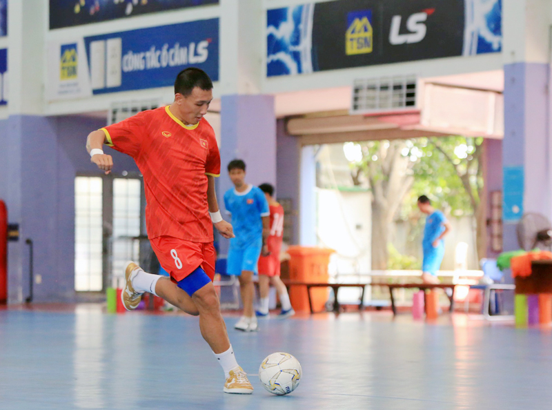 HLV Phạm Minh Giang tin tưởng ĐT Futsal Việt Nam sẽ vượt qua ĐT Lebanon -0