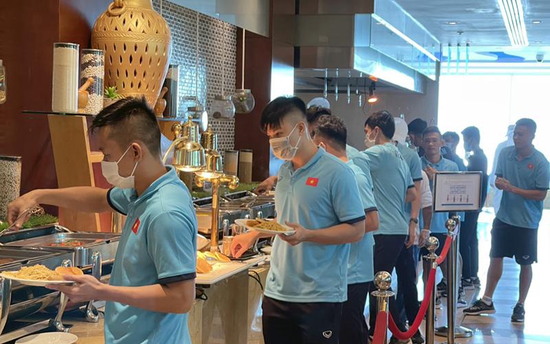 Đội tuyển Futsal Việt Nam đã tới UAE -0