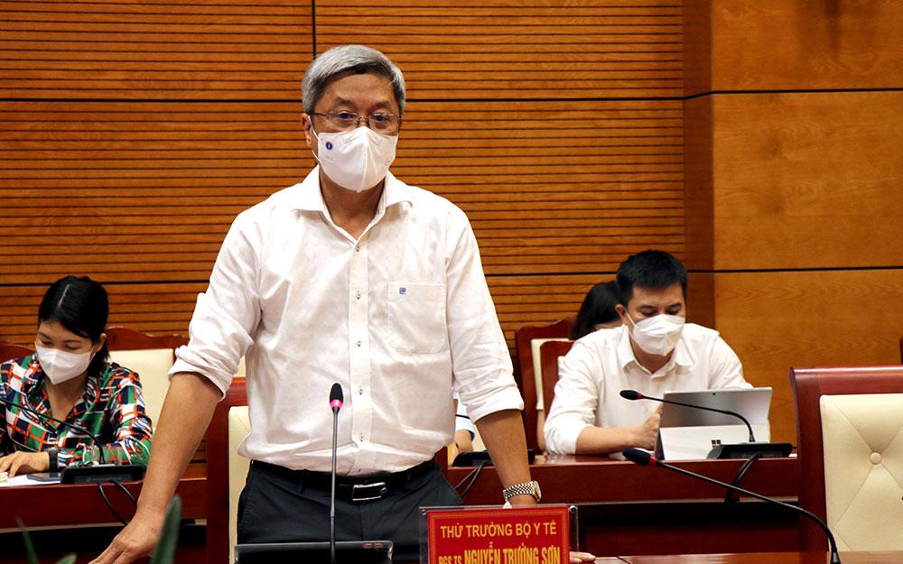 Đoàn công tác của Bộ Y tế làm việc tại Bắc Ninh về công tác phòng, chống dịch Covid-19 -0